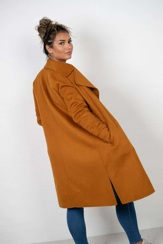 Oda Ida Coat - Spicy Mustard