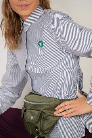 Fae Shirt - Stribed fra Wood Wood - detaljer