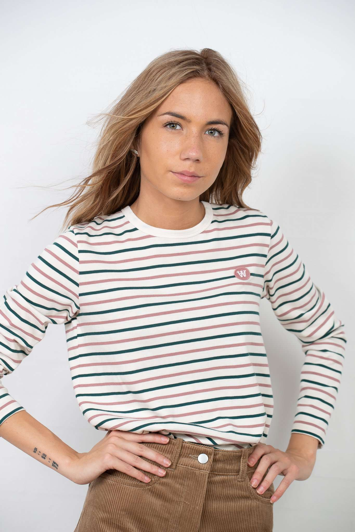 Moa Long Sleeve - Multi Stripe - Multi Stripe XS