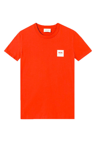 Eden T-shirt - Rust - Wood Wood