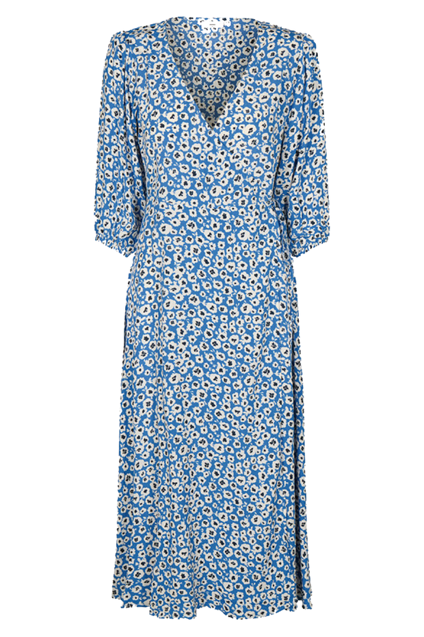 Elmina Dress - Palace blue - Minimum
