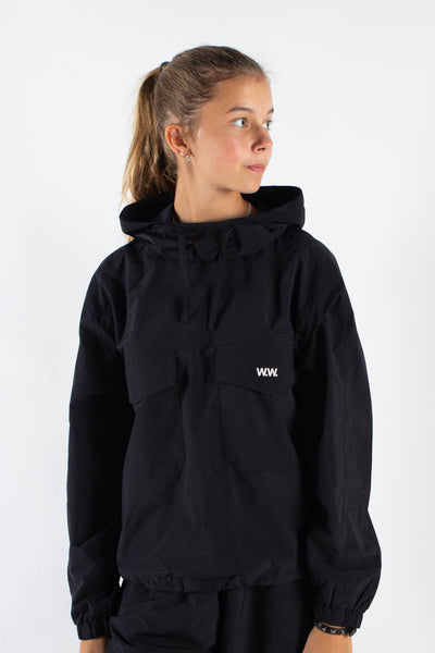 Emily Track Top - Black - Wood Wood