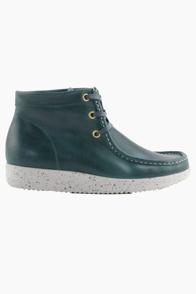 Emma - Pull Up Leather - Jade - Nature Footwear