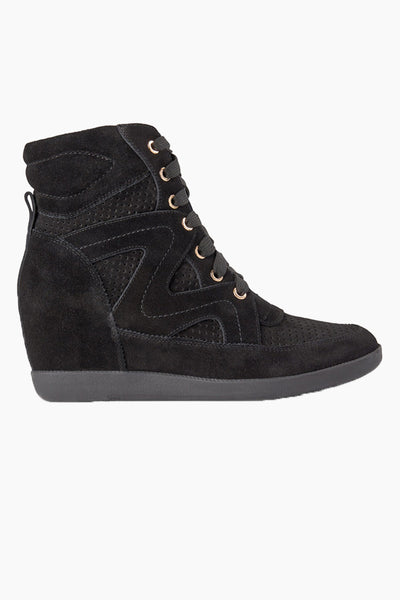 Emmy Lace Suede - Black - Shoe The Bear