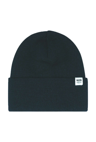 Gerald Tall Beanie - Navy - Wood Wood