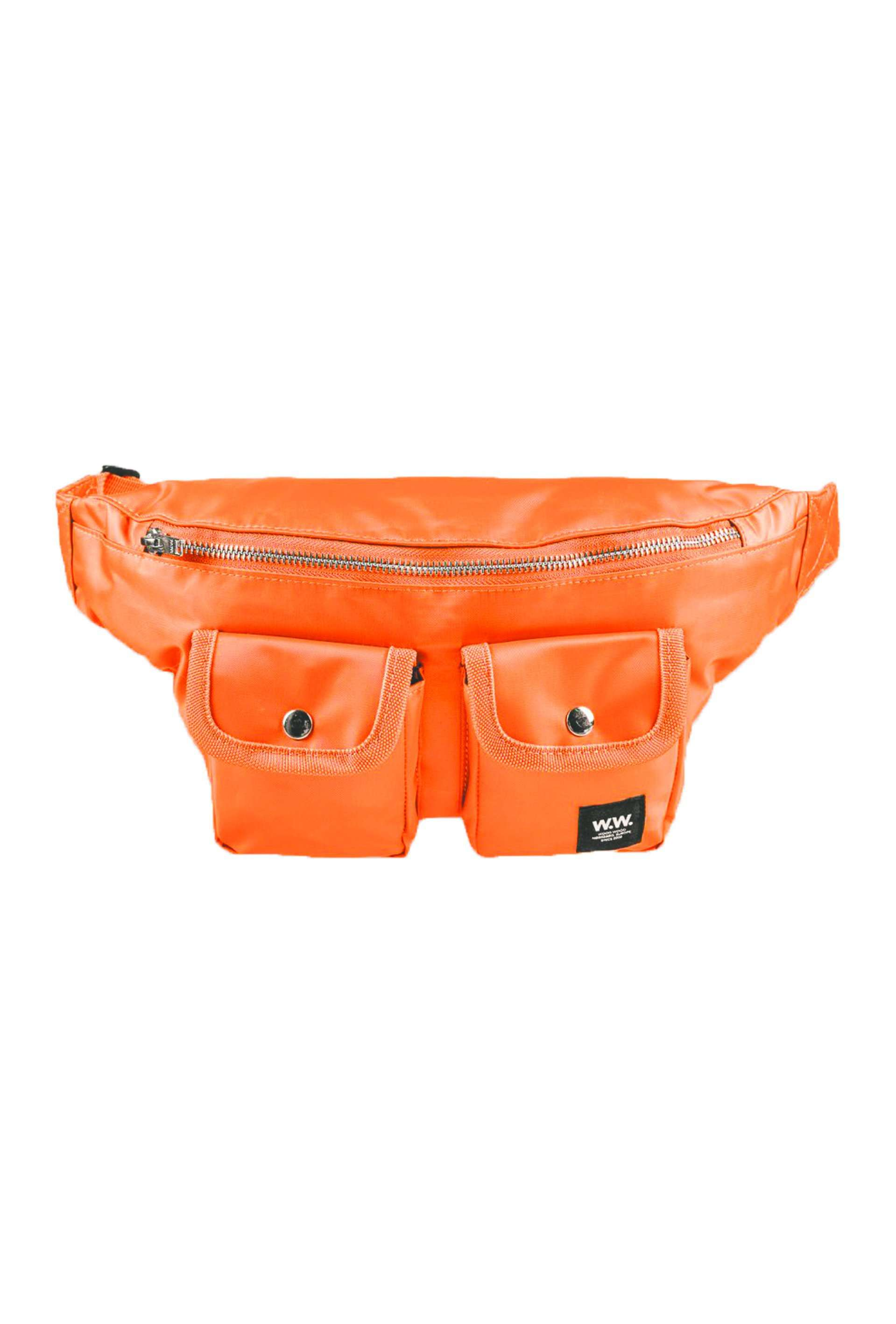 Gray Bumbag - Rust - Wood Wood - Orange One Size