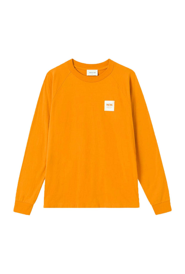 Halli Long Sleeve Mustard orange t-shirt Wood Wood 3