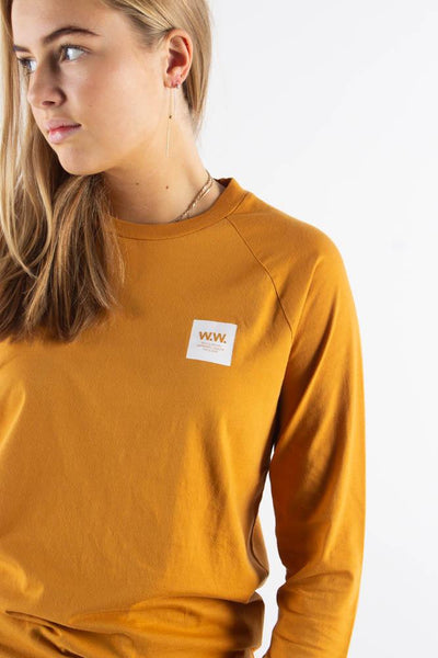 Halli Long Sleeve - Mustard - Wood Wood qnts
