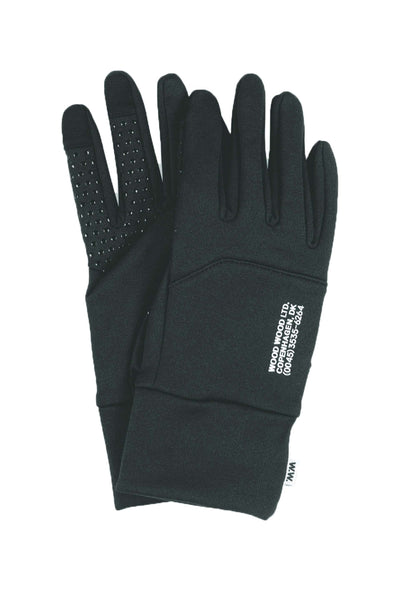 Holger Gloves - Black - Wood Wood