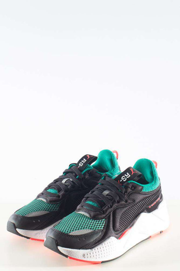 RS-X Softcase Black Green sneakers sort grøn rød Puma 1
