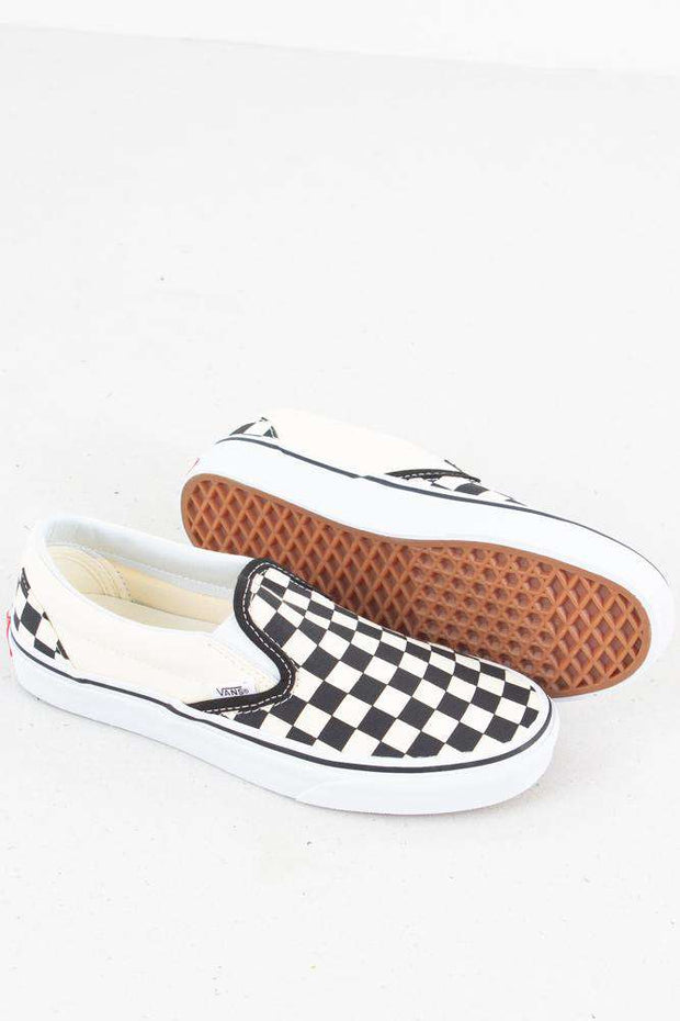 Classic Slip-On - Black/White fra Vans 3