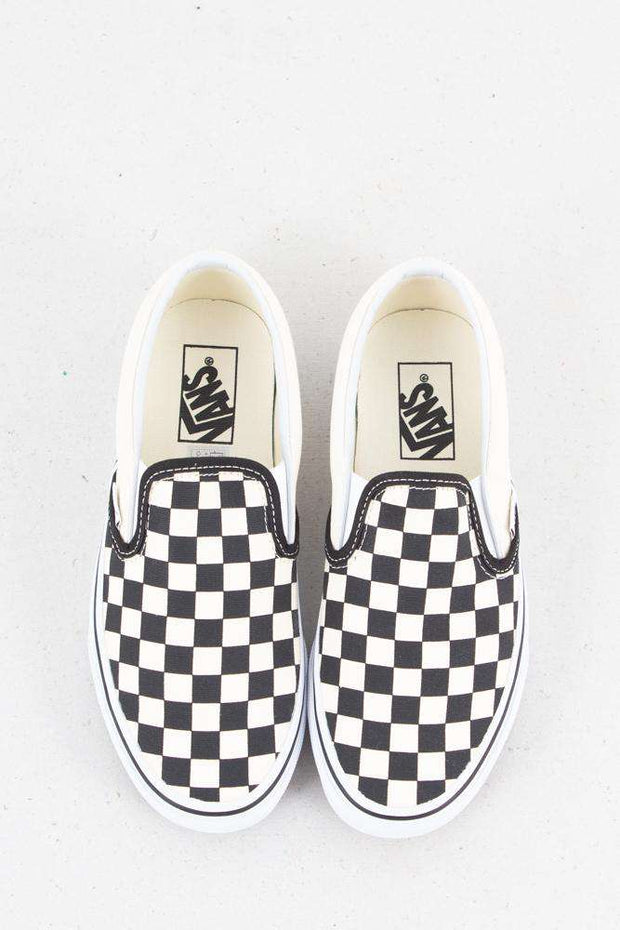 Classic Slip-On - Black/White fra Vans 4
