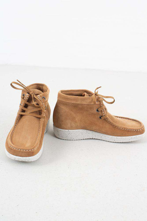 Emma Suede - Toffee/White fra Nature Footwear 3
