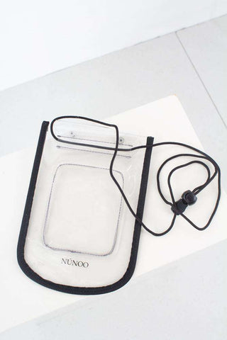 Beach Wallet Transparent - Colorless fra Nunoo