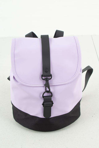 Lavender Drawstring Backpack fra Rains -