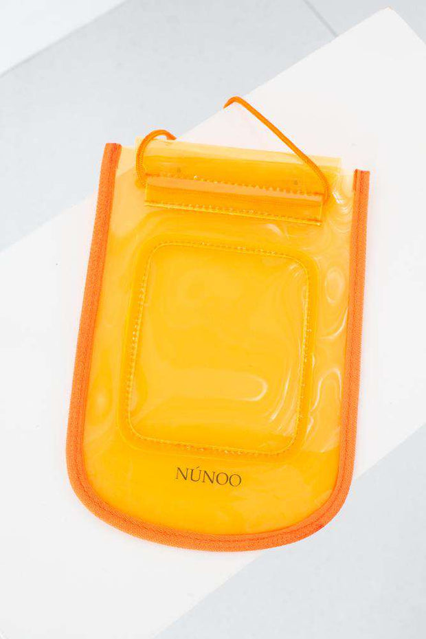 Beach Wallet Transparent - Orange fra Nunoo 2