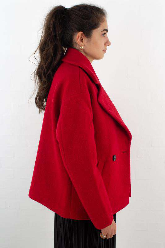 Image of   Harriett Sandra jakke - Rød - Scarlett red 34
