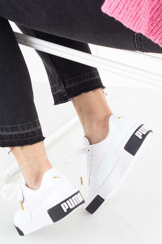 Cali WN´S - White/Black fra Puma