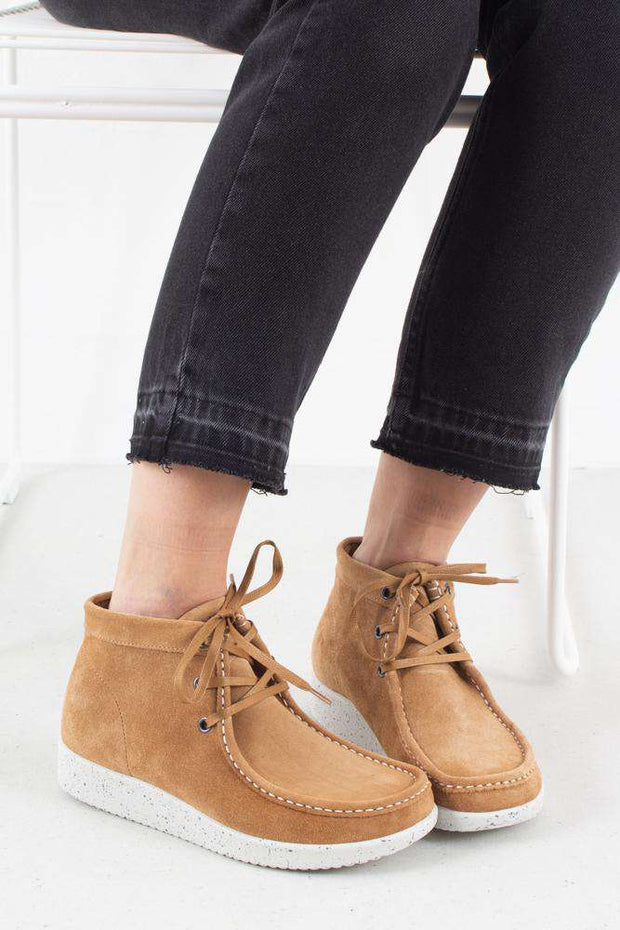 Emma Suede - Toffee/White fra Nature Footwear 1