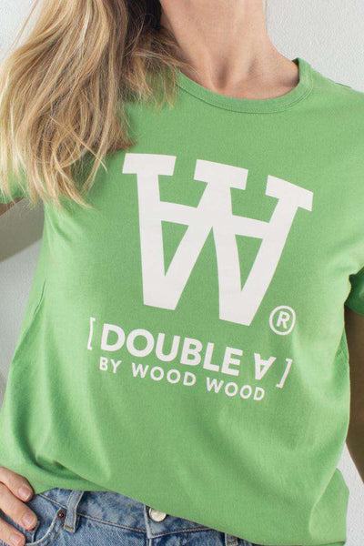 Bright Green Wood Wood Uma T-shirt