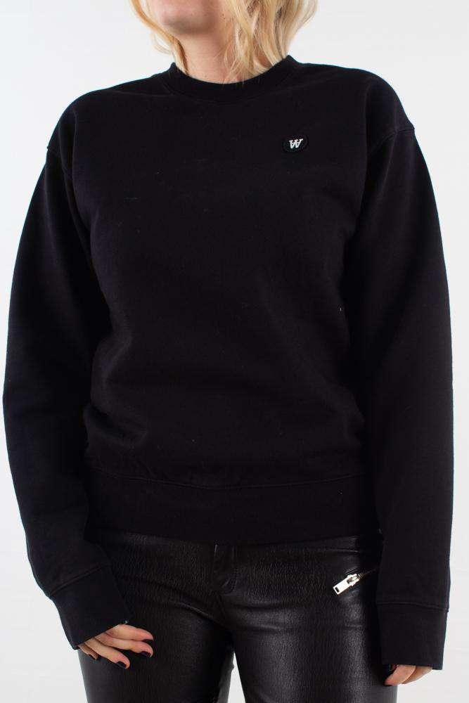 Jess sweatshirt - Black - Wood Wood - Sort XS