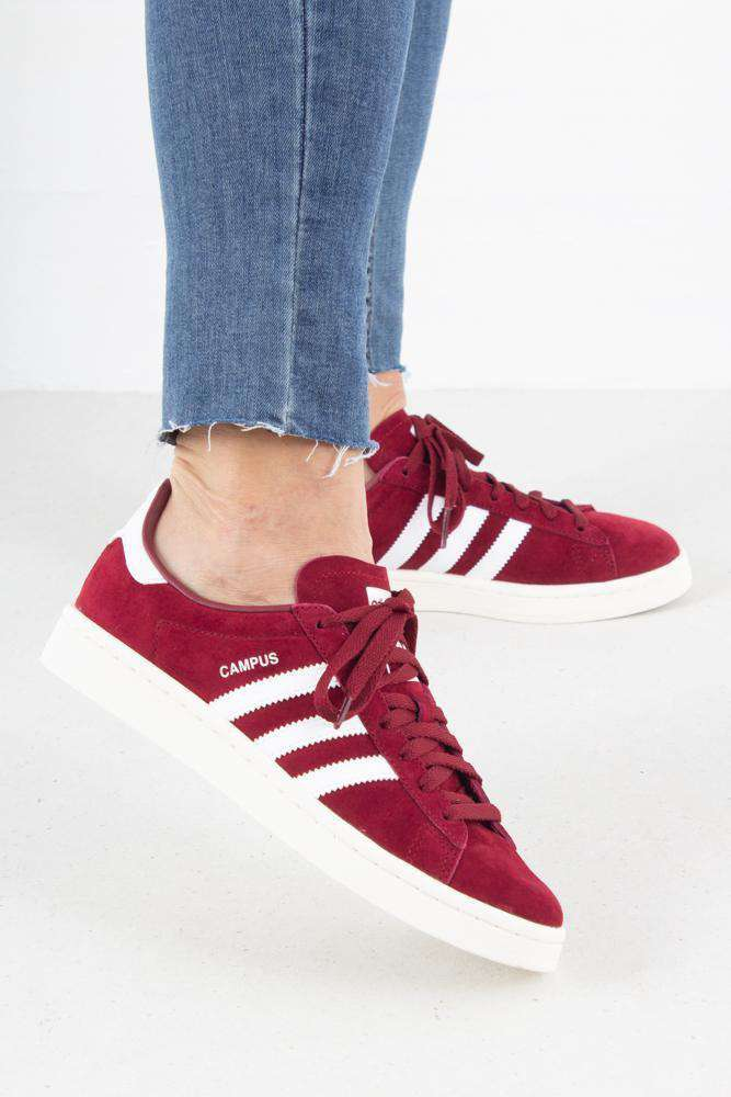 Adidas Campus BZ0087 - Bordeaux - Adidas Originals - Bordeaux 36