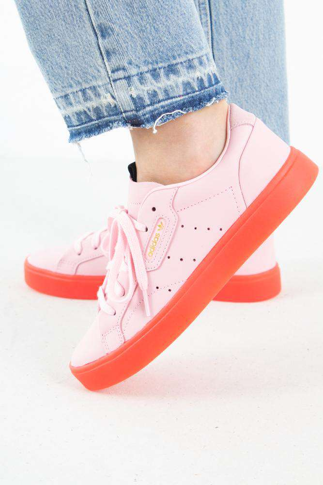 Adidas Sleek - Diva/Red - Adidas Originals - Pink 36