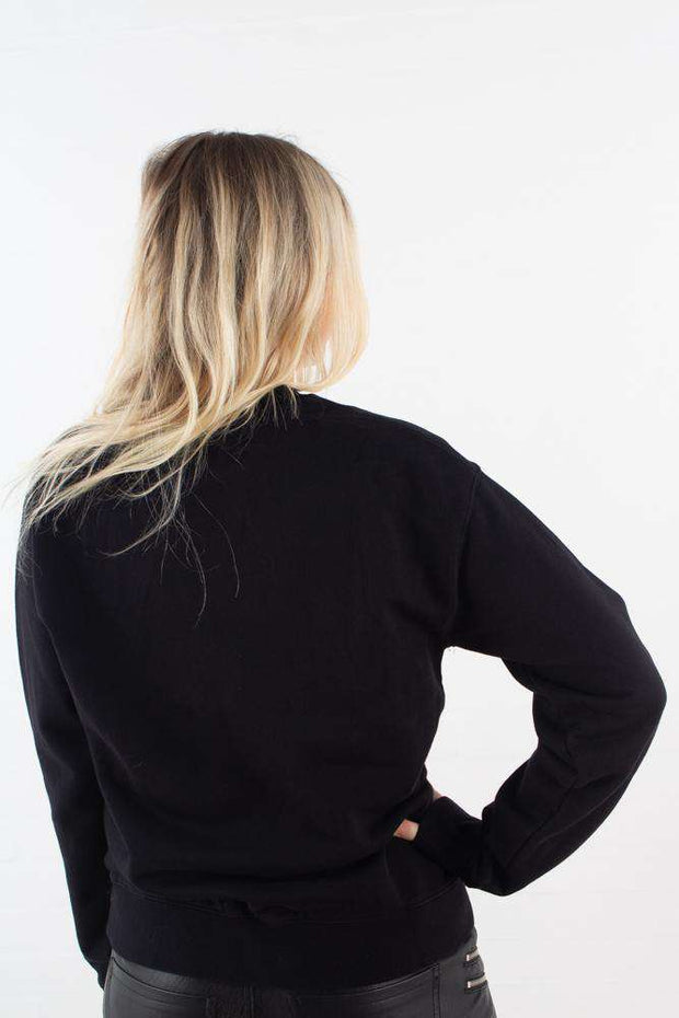 Jess sweatshirt - Black - Wood Wood