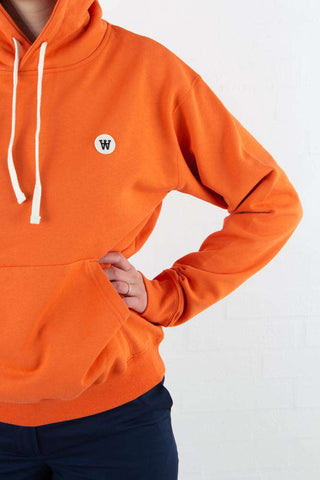 Jenn Hoodie - Orange fra Wood Wood
