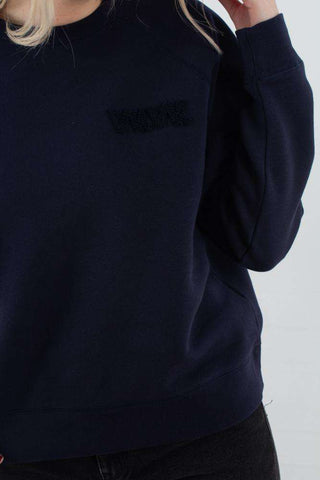 Jerri Sweatshirt - Navy fra Wood Wood