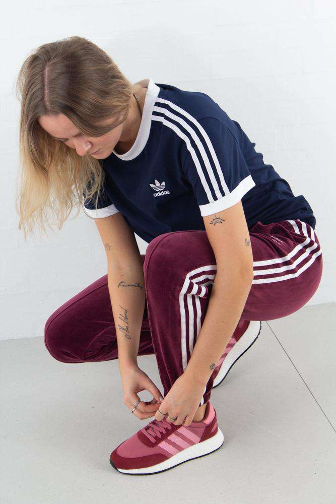 Image of   3 Stripes Tee - Navy - Navy L