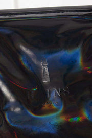 Holographic Tote Bag Rush Black I sort fra Rains 2