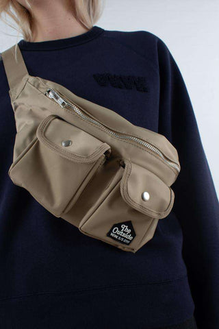 Gray Bumbag - Light Khaki fra Wood Wood