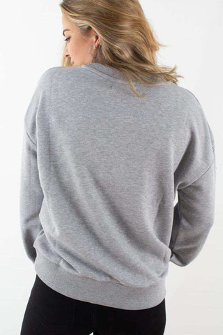 Women Only Oversized Sweatshirt I Grey fra NA-KD 1
