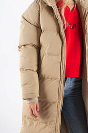 Down Jacket - Beige - SHU 1
