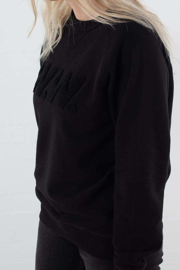 Hester Sweatshirt - Black fra Wood Wood 2