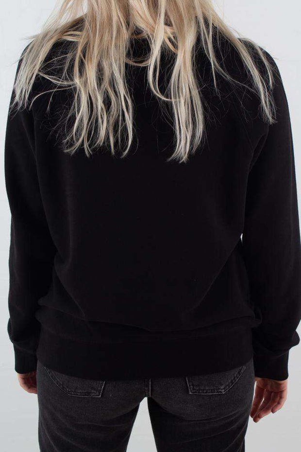 Hester Sweatshirt - Black fra Wood Wood 3