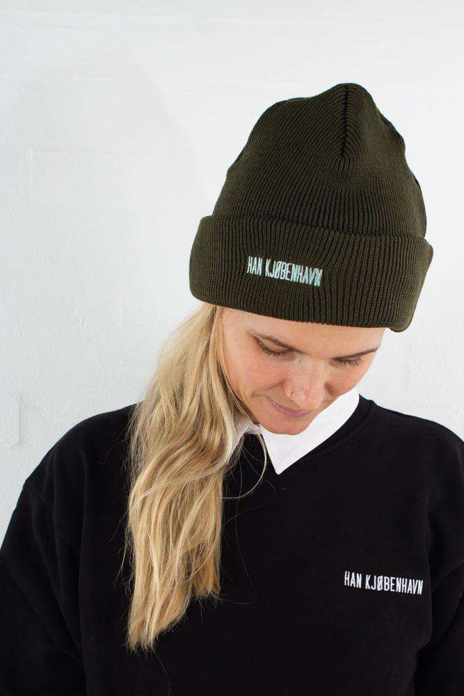 Image of   Han Beanie - Army - Army One Size