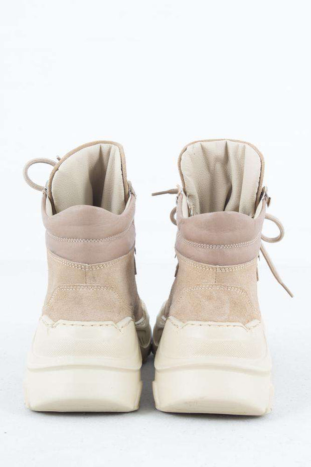 Zina Boot - Sand Suede - Garment Project