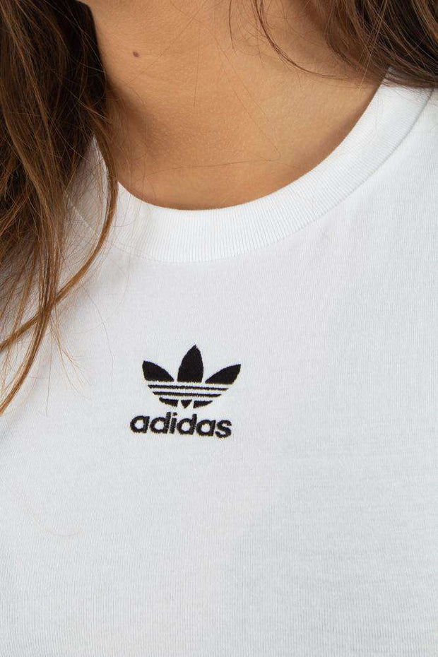 Crop Tank - White - Adidas Originals