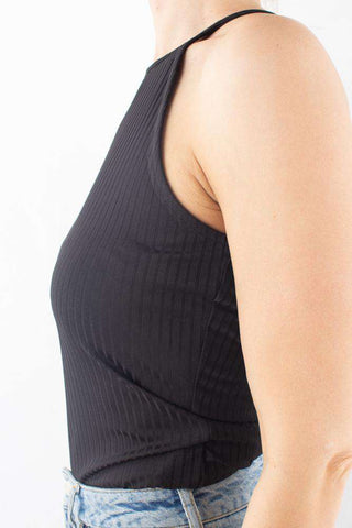 Rollo Halterneck Top Black I sort fra Gestuz 1