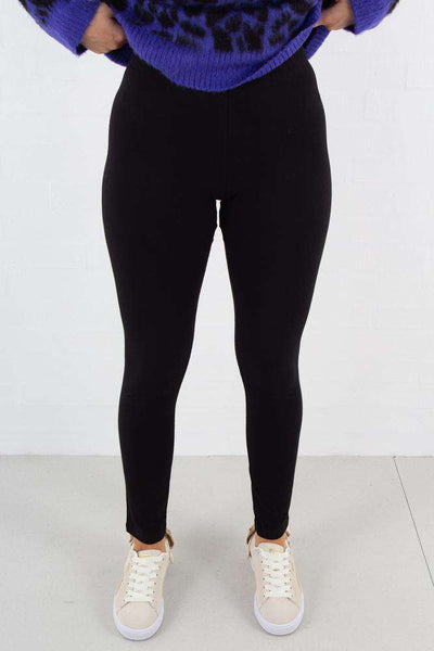 Jersey leggings i sort fra NA-KD - 1