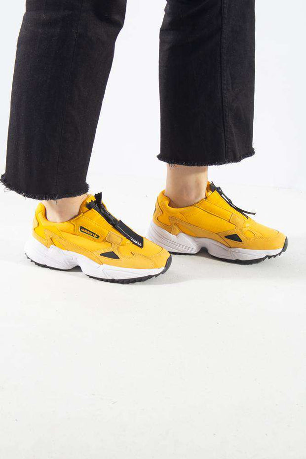 Falcon Zip  Gul yellow Adidas Originals