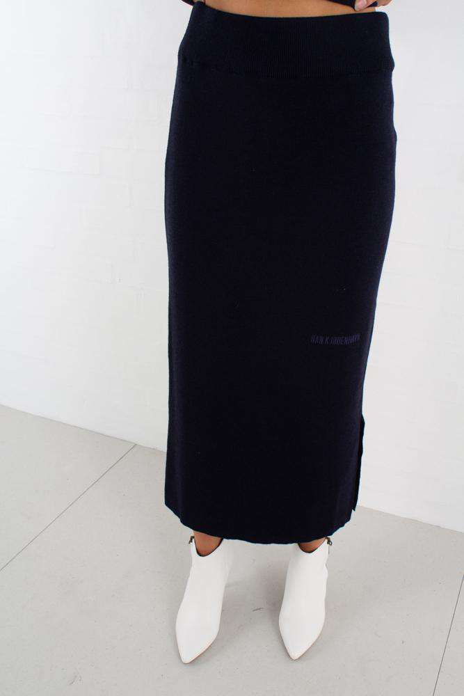 Image of   Knit Skirt - Dark Navy - Navy L