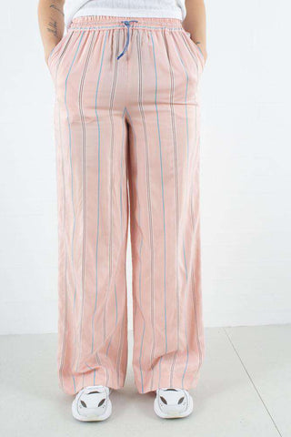 Darla Trousers i Light Rose Stripe fra Wood Wood 1