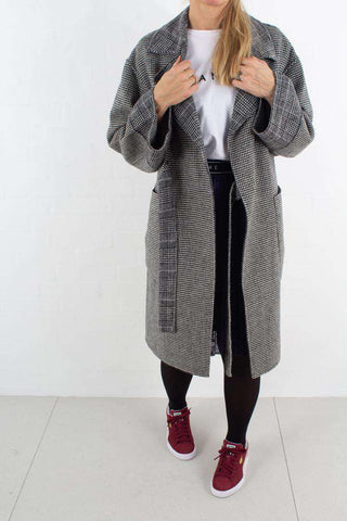 Easy Jacket - Dark Grey Melange fra BLANCHE