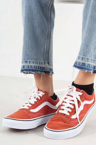 Old School - Hot Sauce/True White fra Vans