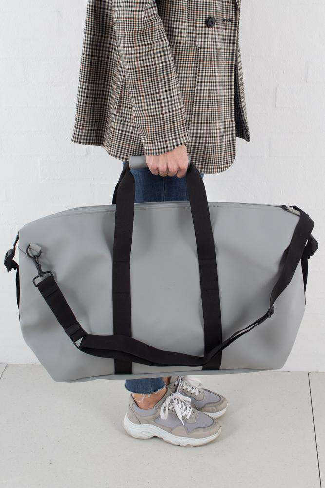 Weekend Bag - Stone - Rains - Grå One Size