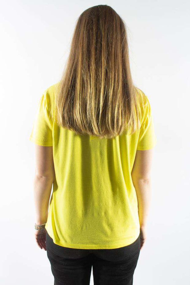 Single Organic Trenda p C - Yellow/Navy - Mads Nørgaard 3