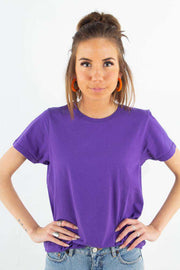 Light Organic Tee - Ultra Violet fra Colorful Standard 1